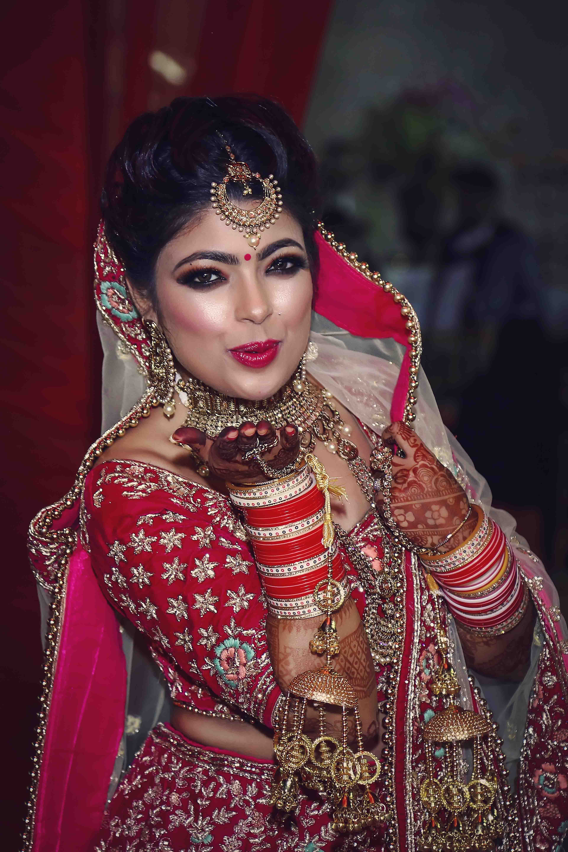 Indian Bridal Photo Shoot in Delhi: Dulhan Makeup Photos   Photoportray