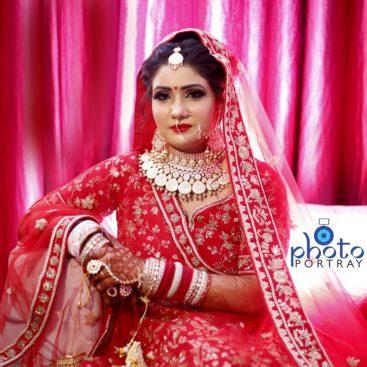 Indian Bridal Photo Shoot In Delhi Dulhan Makeup Photos Photoportray